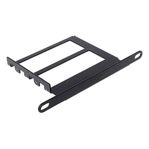 YOYOHO Metall Grafik VGA Kartenhalter Aluminium VGA Halterung Grafikkarte Vorderseite Umgewandelte Unterstützung