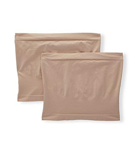 Playtex Women's Cool Comfort Maternity Belly Band - 2 Pack PLMTBB S/M Nude/Nude