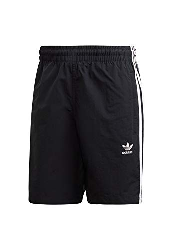 adidas Herren Swimsuit 3-Stripes, Black, M, ED6045