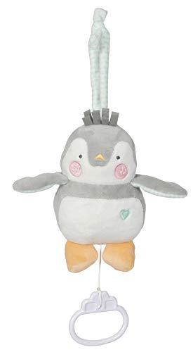 Tiamo Lou-Lou Pinguin Baby Spieluhr Für Elise grau Mint