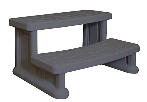Cover Valet SSSRW Spa Side Step, Warm Grey