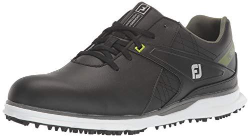 FootJoy Men's Pro/SL Golf Shoes, Black/Lime, 7 M US