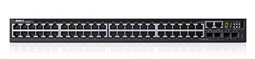 Dell Networking S3148 - Commutateur - C3 - Géré - 48 x 10/100/1000 + 2 x 10 Gigabit SFP+ + + 2 x SFP Gigabit combiné - flux d'air de l'avant vers l'arrière - Montable sur rack - Dell Smart Value
