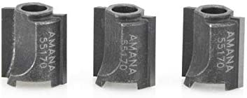 popular Amana Tool - online sale (55170) 3 lowest Pack Cutters For #47170 (REPLACES Ocemco #TA-156) outlet sale