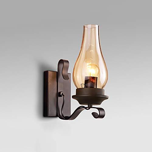 Industriële Vintage Stijl Wandlamp, Creatieve Kerosine Glazen Wandlamp, Geschikt Voor Het Versieren Van Slaapkamers, Gang, Gangpad, Bar, Café, Nachtlamp