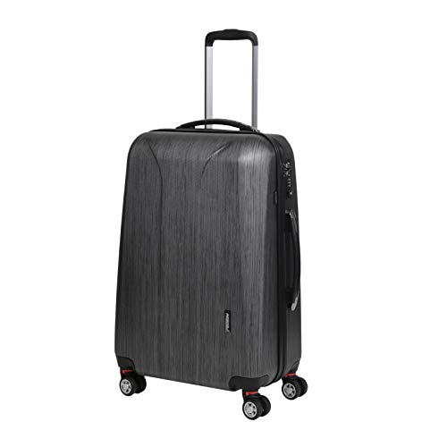 March 15 New Carat Special Edition 4-Rollen-Trolley M 65 cm black brushed