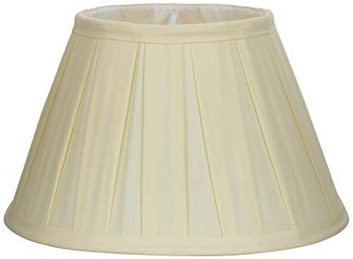 Better & Best lampenkap van katoen, 25 cm, brede plank, natuurlijke kleuren