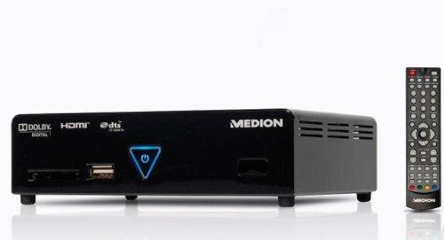 Medion LIFE E85024 MD 86597 Full-HD Media Player mit integr. DVB-T, 2x USB 2.0, HDMI, schwarz
