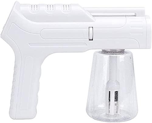 Disinfecting Spray Pistolero desinfectante Atomizador Pistola de vapor interior al aire libre, atomizador nano recargable de mano 480ml Capacidad de gran capacidad Ulv Pulverizador eléctrico Fogger Pu