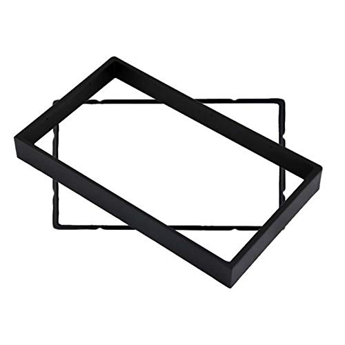 SDGSDHN 2din Fascia/Fit para Buick Excelle, Ajuste para Chevrolet Lacetti, Nubira, Optra Aveo/Fit para Suzuki/Fit for Forenza Verona/Fit for Dash Trim Kit Marco ROVENDED (Color : Black)