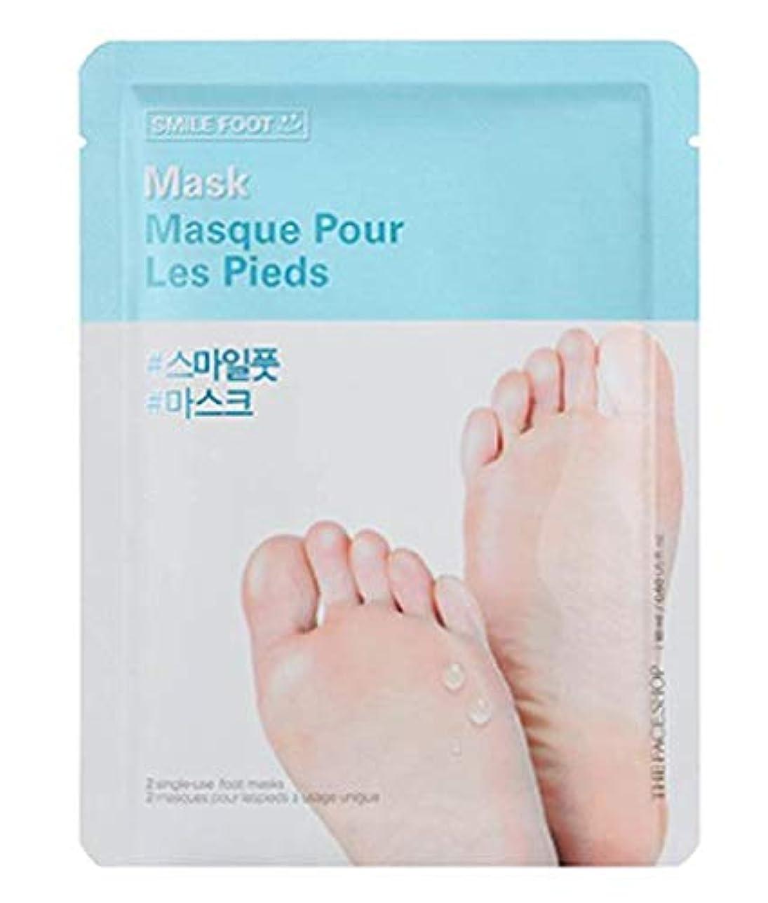 レルム懇願する寝てるTHE FACE SHOP Smile Foot Mask 3p ザフェイスショップ スマイル フットマスク 3枚 [並行輸入品]