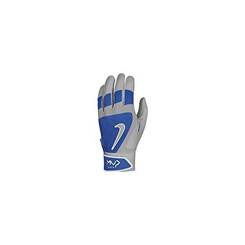 Ruja Mens Pro Leather Baseball Batting Gloves