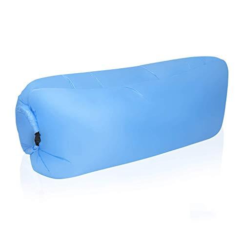 BANGSUN Aufblasbare Liege, tragbar, wasserdicht, Anti-Luft undicht, Sofa mit Stauraum