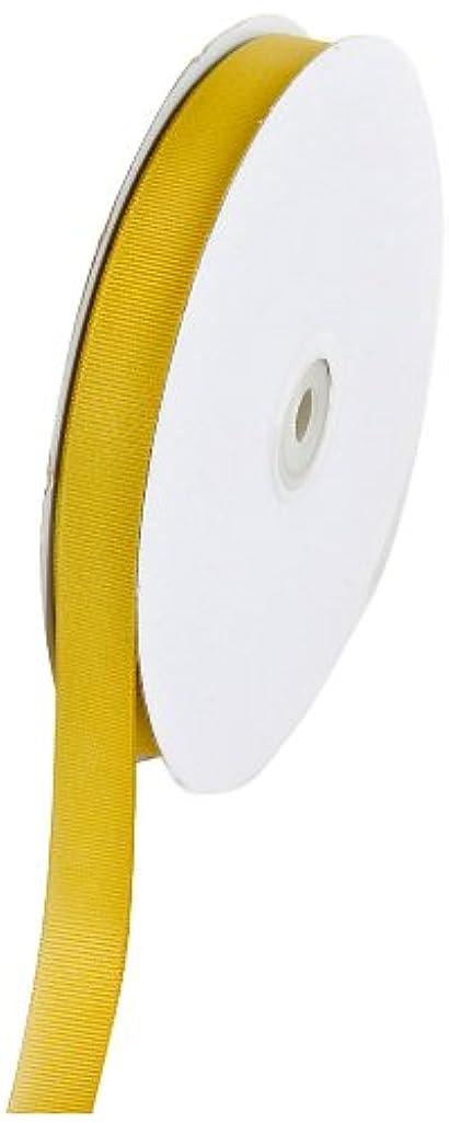 Creative Ideas 50-Yard Solid Grosgrain Ribbon, 5/8-Inch, Antique Gold