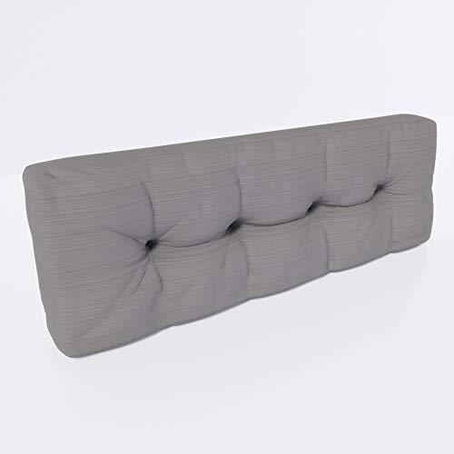 MSS Einzelkissen Rückenkissen Relax Palettenkissen Palettenauflage Stone