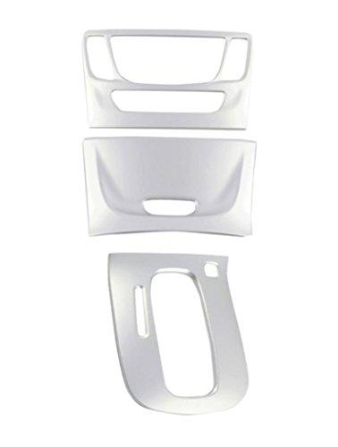 Emblem Trading Mittelkonsole Schalttafel Klima Rahmen Blende In ABS Kunststoff Chrome Matt Mokka