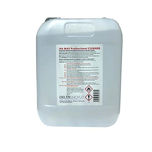 Detergente, Isopropilico Ipa Puro al 99,9%, di Alta Qualita, Alcool 2-propanolo, isopropanolo, Alcol Tanica da 5Litri Prodotto Multiuso, Casa, Ufficio, Elettronica, Pulizia Stampanti 3D
