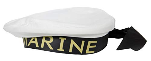 Folat B.V. Sombrero de marinero marinero marinero Marinaio Marina sombrero Accesorios marinos sin uniforme