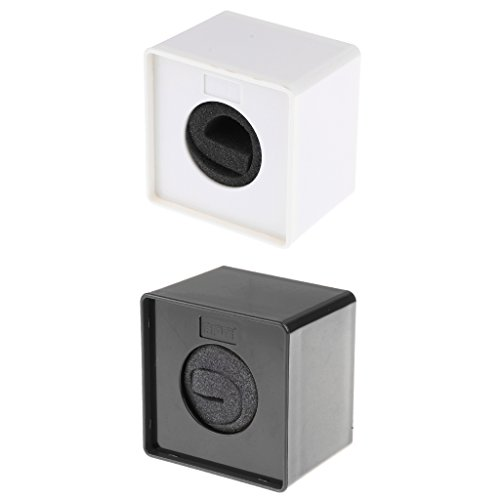 Nobranded 2pieces ABS Mic Micrófono Speech Square Cube Flag Station