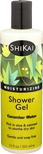 ShiKai Moisturizing Shower Gel, Cucumber Melon, 12 Ounce by ShiKai
