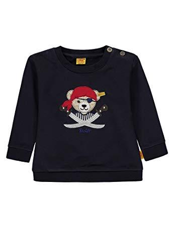 Steiff Steiff Baby-Jungen 1/1 Arm Sweatshirt, Blau (Marine Blue 3032), 68