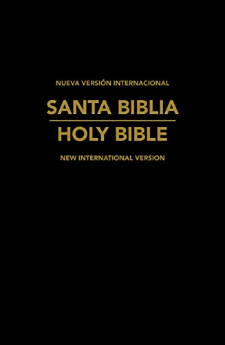 Biblia Bilingue Español-Inglés, NVI/NIV, Imitación Piel / Spanish NVI/NIV Spanish/English Bilingual Bible, Imitation Leather (Spanish Edition)