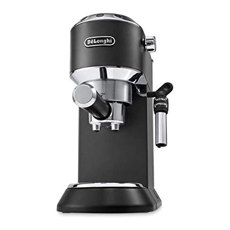 DeLonghi Dedica Style EC 695.BK Machine à café, pose libre, semi-automatique 1,1 L