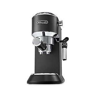 DeLonghi DEDICA Style EC 695.BK Freestanding semi-auto 1.1L Black Coffee Maker–Coffee Makers (Freestanding, 1.1l, coffee Pod, 1300W, Black) (B0713X2GSH) | Amazon price tracker / tracking, Amazon price history charts, Amazon price watches, Amazon price drop alerts