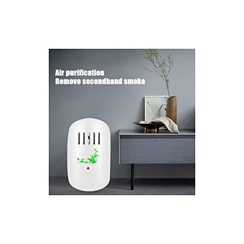 J&X Generador de ozono O3 Purificador De Aire Household Esterilizador Wirelss Purificador para Cocina, Dormitorio, Oficina, Familia,Generador de ozono