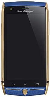 هاتف لامبورجيني 88 توري ثنائي شرائح الاتصال - 64 جيجا، رام 3 جيجا، الجيل الرابع، ازرق/ذهبي