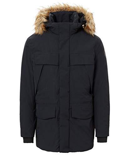 Napapijri Hombres Parka Impermeable Skidoo Negro XL