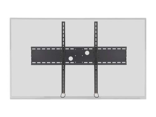 Monoprice Stable Series Extra Wide Tilt TV Wall Mount Bracket for TVs 60in to 100in Max Weight 220 lbs VESA Patterns Up to 1000x800 Works with Concrete & Brick UL Certified Black