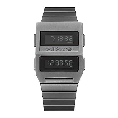 adidas Reloj Digital para Unisex Adulto de con Correa en Acero Inoxidable Z20-632-00