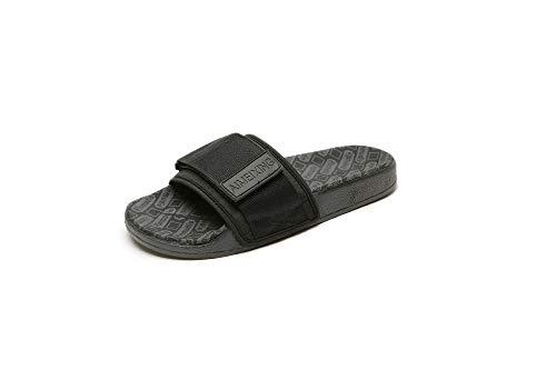 bjyxszd Suela De Espuma Suave Zapatos De Piscina Casa,Zapatillas de Estar por Casa de Mujer,Casa de Verano al Aire Libre con Amantes, mandtes, Zapatos de Playa para Hombres-Negro_38/39