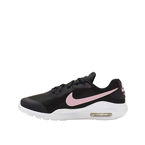 Nike AIR MAX OKETO GS Trainers Filles Black/Pink - UK:5.5 - Low top Trainers