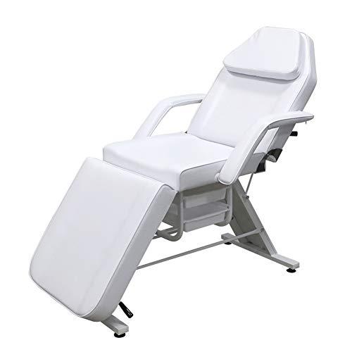 HUAYIN Facial Table Tattoo Stuhl, Multifunktions-Akupunktur-Massage Salon Beauty Styling Bed   Lash Extensions Spa Schönheitssalon Ausrüstung