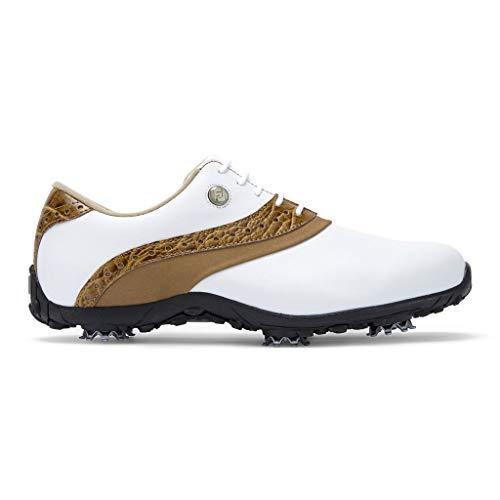 Footjoy Damen Arc Lp Golfschuhe, Weiß (Blanco/Marron 93950w), 39 EU