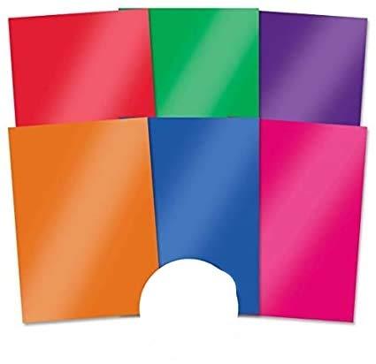 Hunkydory Crafts Mirri Essentials - Harlequin Brights 220gsm Mirror Card MCD405