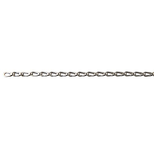 Perfection Chain Products 54755 1/0 Plumber's Chain, Stainless steel Clean, 10' Carton