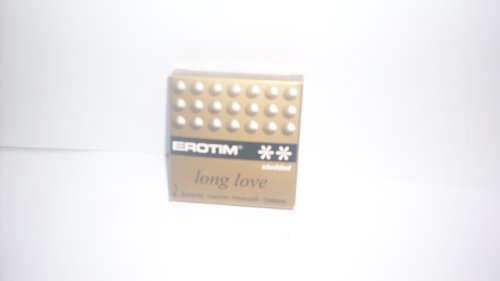 Erotim Long Love Condom two in pack [studded]