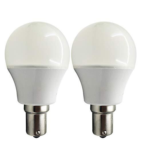 Ruiandsion 1156 BA15S 1141 1003 1073 7506 Bombillas LED 3000K Blanco Cálido 2835 15SMD Chipsets 10-80V Bombillas LED para interior RV Camper luces traseras