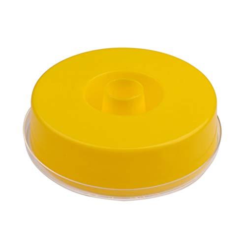 PHILSP Kunststoff Bee Feeder Drinker Runde Honig Fütterung Drinking Waterer Imkerei Werkzeuge