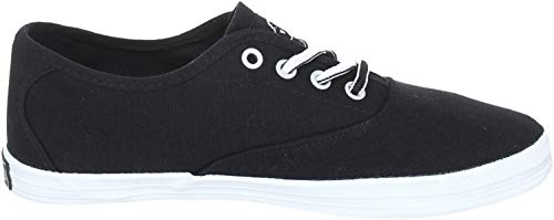 Kappa Damen HOLY Sneakers, Schwarz (1110 Black/White), 41 EU