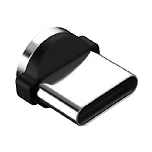 TISHITA Cable USB magnético 3 en 1, Carga rápida y Cable de sincronización de Datos, Compatible con Micro USB i-Product y Smartphones Tipo C (3 pies/6 pies) - Tipo G