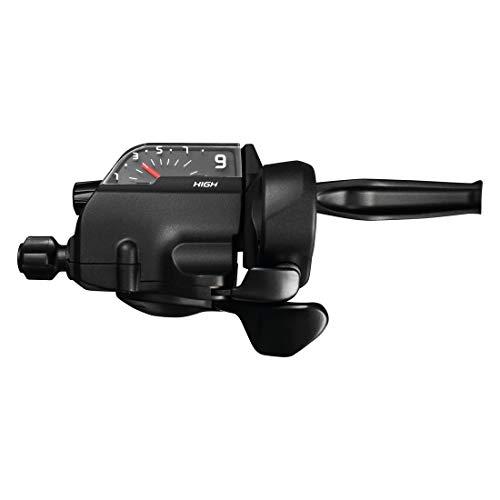 Shimano Alivio ST-M4050 - Palanca de cambio/freno (9 velocidades, 2 dedos, HR), color negro