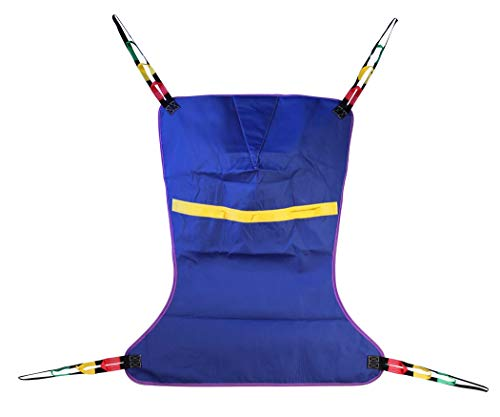 """ProHeal Universal Full Body Lift Sling, X Large, 56""""L x 43"""" - Solid Fabric Polyester Slings for Patient Lifts - Compatible with Hoyer, Invacare, McKesson, Drive, Lumex, Medline, Joerns and More"""