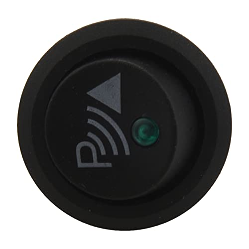 OVBBESS Interruptor Apagado estacionamiento/basculante de 3 Pines Redondo Sensor de Marcha Trasera Antes atras