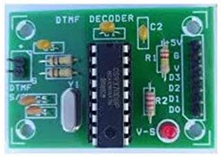 ug land india mt8870 dtmf voice decoding module dtmf decoder for mobile phone projects-Green