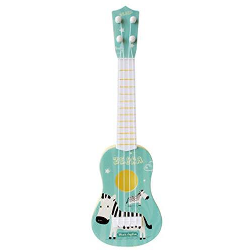 Vipithy Strumento Musicale Artificiale per Bambini Ukulele, Legno Chitarra Acustica Regalo per Bambini Giocattoli Musicali, Giocattoli Musicali Educativi per Bambini