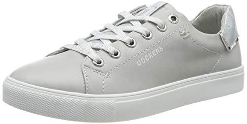 Dockers by Gerli Damen 44MA201-610210 Sneaker, Grau (Hellgrau 210), 39 EU